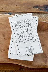 Riviera Maison Paper Napkin Love and Good Food