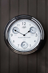 Riviera Maison World Cities Clock