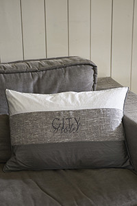 City Hotel Stripe Pillow Cover 65x45