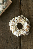 Riviera Maison Happy Ocean Wreath Dia 13 white