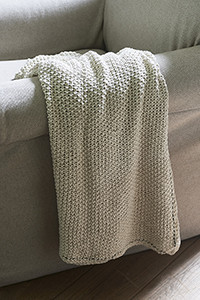 Riviera Maison Classic Knit Throw off white 170x130