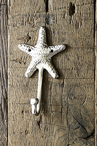 Riviera Maison Sea Star Hook nickel