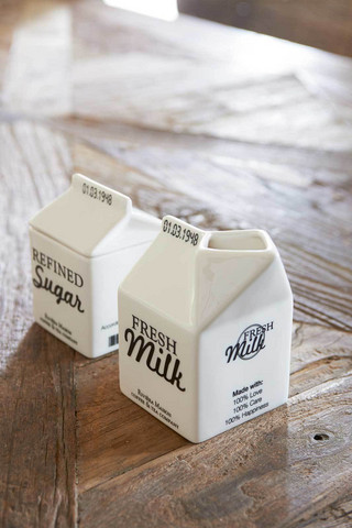 Riviera Maison Carton Jar Milk