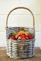 Riviera Maison Rustic Rattan Strawberry Basket