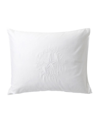Lexington Embroidery Pillowcase White 50x60