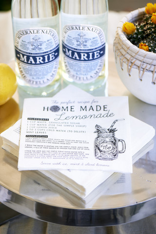 Riviera Maison Paper Napkin Home Made Lemonade