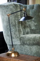 Riviera Maison Soho Square Desk Lamp Black