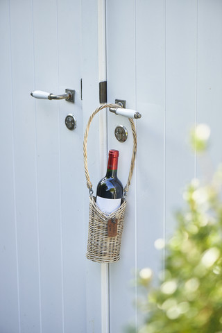 Riviera Maison Rustic Rattan Bottle Holder