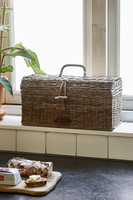 Riviera Maison Rustic Rattan Holiday Breadbox