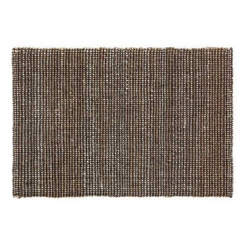DIXIE MATTO JUTE FILIP GREY MELANGE 90X60CM