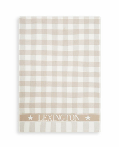 LEXINGTON ICONS COTTON CHECKED TERRY KIT