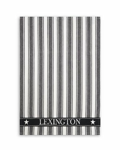 LEXINGTON ICONS COTTON TWILL WAFFLE STRIPES