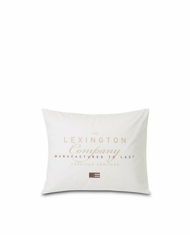 LEXINGTON PRINTED COTTON POPLIN PILLOWCASE 50X60