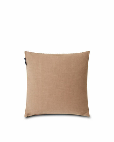LEXINGTON VELVET CORD COTTON PILLOW COVER DARK BEIGE