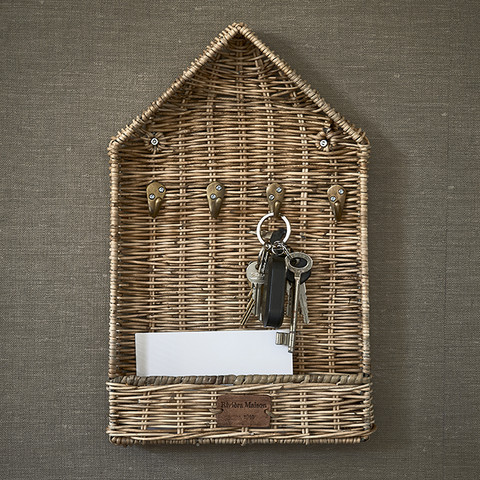 RIVIERA MAISON RUSTIC RATTAN THE HALL HOUSE ORGANISER