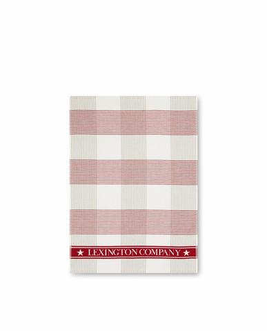 LEXINGTON CHECKED COTTON TERRY KITCHEN TOWEL