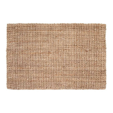 DIXIE OVIMATTO JUTE NATURAL GREY 90x60CM