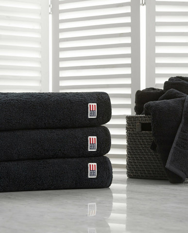 ORIGINAL TOWEL BLACK 50X70