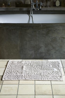 Riviera Maison Palm Leaves Bath Mat flax 80x50