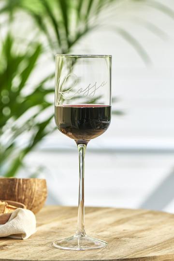 Riviera Maison Rosso Wine Glass