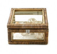 Riviera Maison Rustic Rattan French Glass Box S