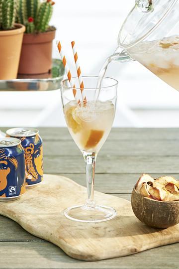 Riviera Maison Sparkle And Soda Wine Glass