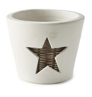 Riviera Maison Winter Star Pot M