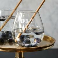 RIVIÈRA MAISON DRINKS ON THE HOUSE GLASS
