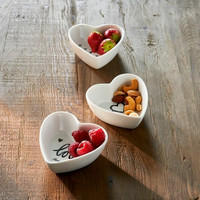 RIVIÈRA MAISON LOVELY HEART BOWLS 3PCS