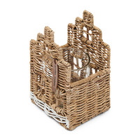 RIVIERA MAISON RUSTIC RATTAN HAPPY HOME VOTIVE