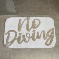 RIVIERA MAISON BATH MAT NO DIVING