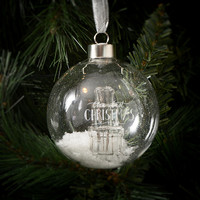 RIVIERA MAISON THE BEST CHRISTMAS ORNAMENT SILVER