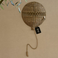 RIVIERA MAISON RUSTIC RATTAN BALLOON WALL DECORATION