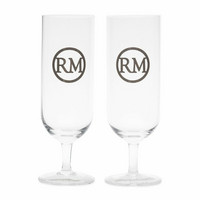 RIVIERA MAISON LOVE RM BEER GLASS 2PIECES