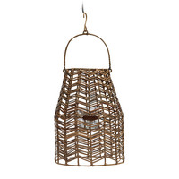 RIVIERA MAISON SUNSET BREEZE HERRINGBONE LANTERN M