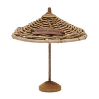 RIVIERA MAISON RUSTIC RATTAN UMBRELLA DECORATION