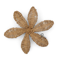 RIVIERA MAISON RUSTIC RATTAN DECORATION FLOWER XS