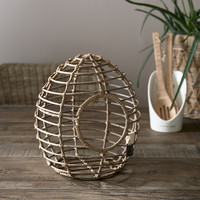 RIVIERA MAISON RUSTIC RATTAN FRESH EGGS HOLDER