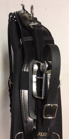 Twisted3D: Leather QH- Training Harness Complete