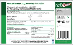 NAF Glukosamiini-MSM -jauhe