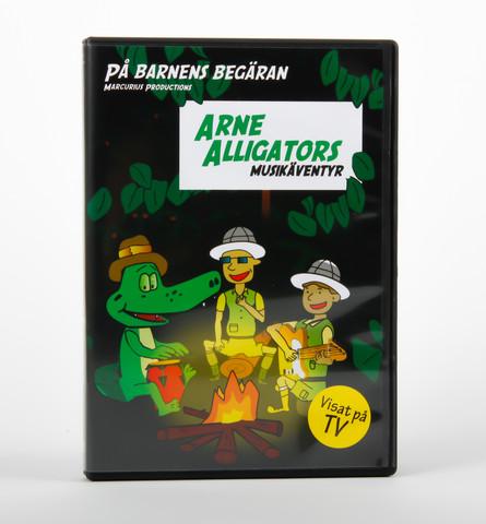 Arne Alligators musikäventyr (på svenska)