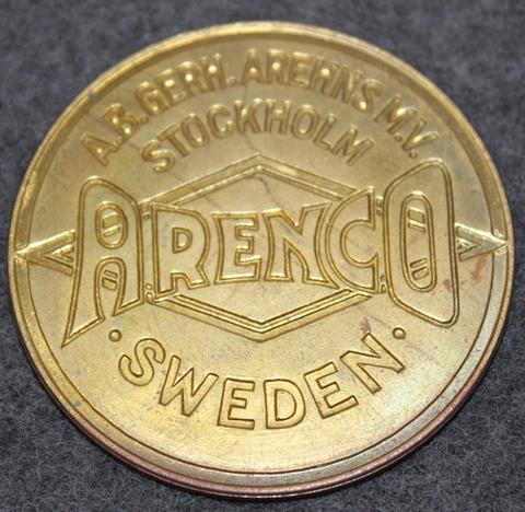 A.B. Gerh. Arehns M.V. Arenco, Stockholm, Sweden
