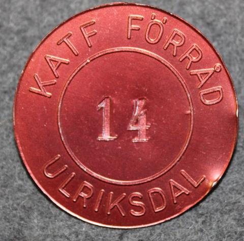 KATF Förråd Ulriksdal. Varikko
