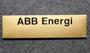 ABB Energi name tag.