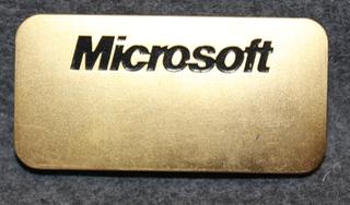 Microsoft, ohjelmistotalo