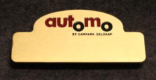 Automo, et carpark selskap, pysäköinti.