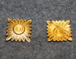 Finnish fire departments, rank insignia, 21mm