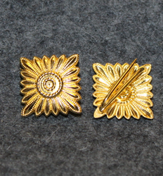 Finnish fire departments, rank insignia, 17mm