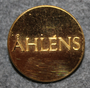 Åhlens, department stores. 24mm gilt