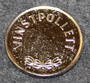 Vinstpollett, AB Björex. Game token.